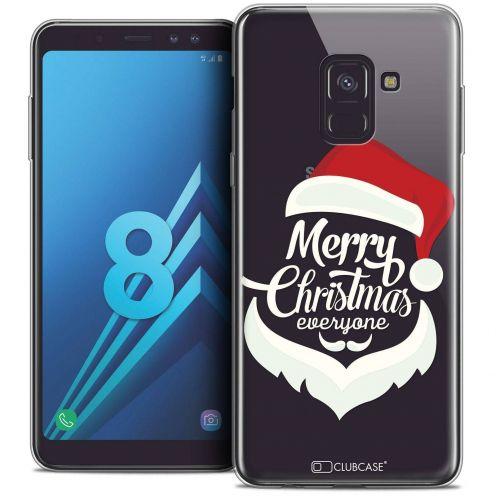 """Coque Crystal Gel Samsung Galaxy A8 (2018) A530 (5.6"""") Extra Fine Noël 2017 - Merry Everyone"""