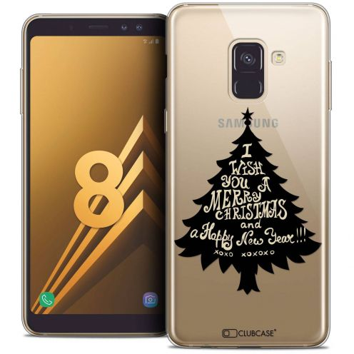 "Coque Crystal Gel Samsung Galaxy A8 (2018) A530 (5.6"") Extra Fine Noël 2017 - XOXO Tree"