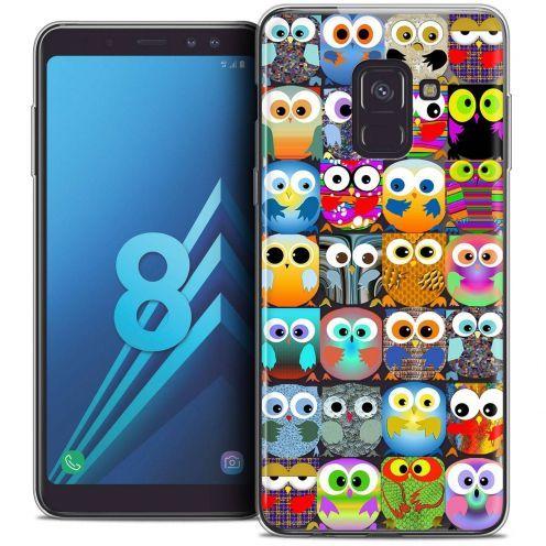 "Coque Crystal Gel Samsung Galaxy A8 (2018) A530 (5.6"") Extra Fine Claude - Hibous"