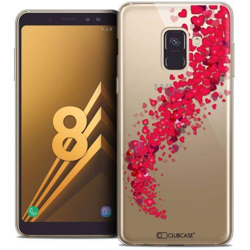 """Coque Crystal Gel Samsung Galaxy A8 (2018) A530 (5.6"""") Extra Fine Love - Tornado"""