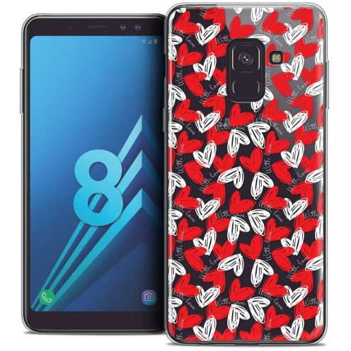 "Coque Crystal Gel Samsung Galaxy A8 (2018) A530 (5.6"") Extra Fine Love - With Love"