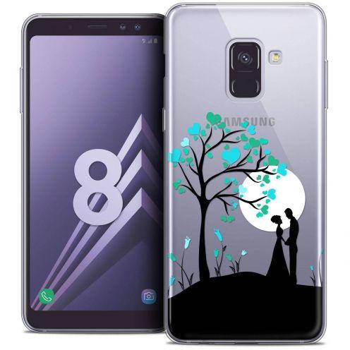 "Coque Crystal Gel Samsung Galaxy A8 (2018) A530 (5.6"") Extra Fine Love - Sous l'arbre"