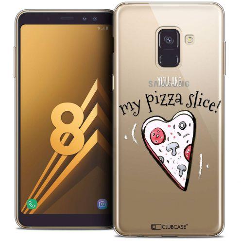 "Coque Crystal Gel Samsung Galaxy A8 (2018) A530 (5.6"") Extra Fine Love - My Pizza Slice"