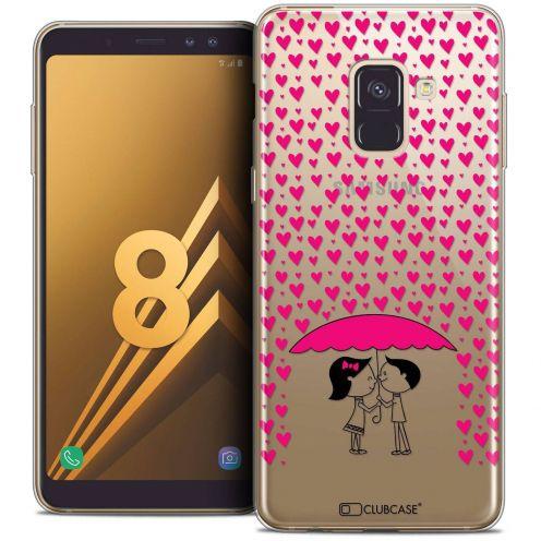 "Coque Crystal Gel Samsung Galaxy A8 (2018) A530 (5.6"") Extra Fine Love - Pluie d'Amour"