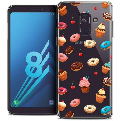 "Coque Crystal Gel Samsung Galaxy A8 (2018) A530 (5.6"") Extra Fine Foodie - Donuts"