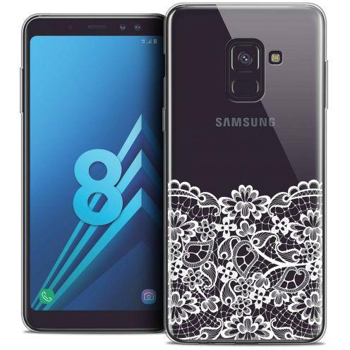 """Coque Crystal Gel Samsung Galaxy A8 (2018) A530 (5.6"""") Extra Fine Spring - Bas dentelle"""