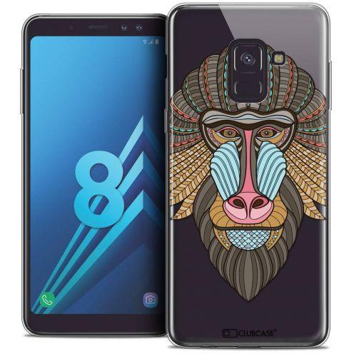 "Coque Crystal Gel Samsung Galaxy A8 (2018) A530 (5.6"") Extra Fine Summer - Babouin"