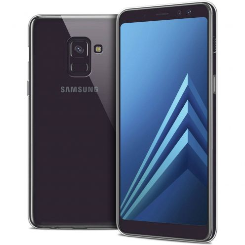 "Coque Samsung Galaxy A8+ (2018) A730 (6.0"") Extra Fine Souple Crystal Clear"