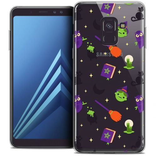 "Coque Crystal Gel Samsung Galaxy A8+ (2018) A730 (6.0"") Extra Fine Halloween - Witch Potter"