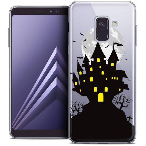 """Coque Crystal Gel Samsung Galaxy A8+ (2018) A730 (6.0"""") Extra Fine Halloween - Castle Scream"""