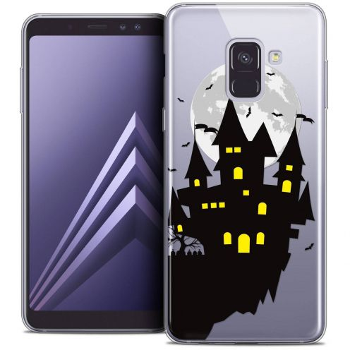 "Coque Crystal Gel Samsung Galaxy A8+ (2018) A730 (6.0"") Extra Fine Halloween - Castle Dream"