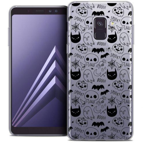 "Coque Crystal Gel Samsung Galaxy A8+ (2018) A730 (6.0"") Extra Fine Halloween - Spooky"