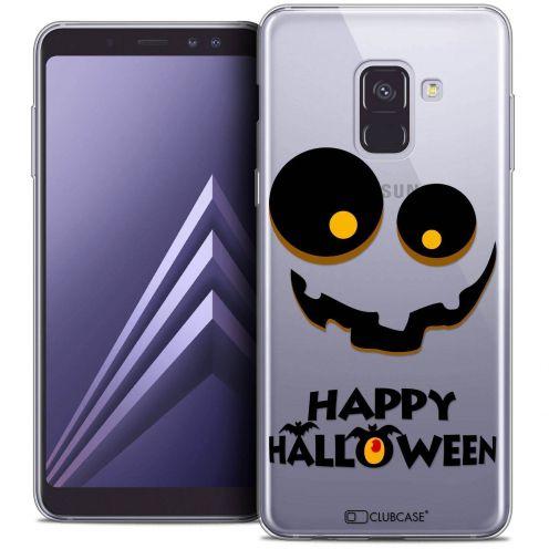 """Coque Crystal Gel Samsung Galaxy A8+ (2018) A730 (6.0"""") Extra Fine Halloween - Happy"""