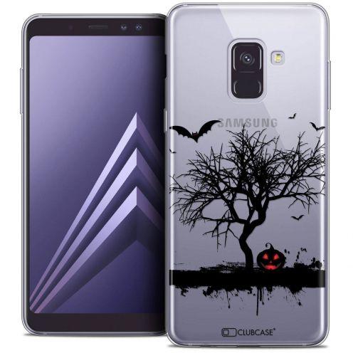 """Coque Crystal Gel Samsung Galaxy A8+ (2018) A730 (6.0"""") Extra Fine Halloween - Devil's Tree"""