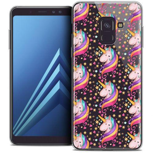 """Coque Crystal Gel Samsung Galaxy A8+ (2018) A730 (6.0"""") Extra Fine Fantasia - Licorne Etoilée"""