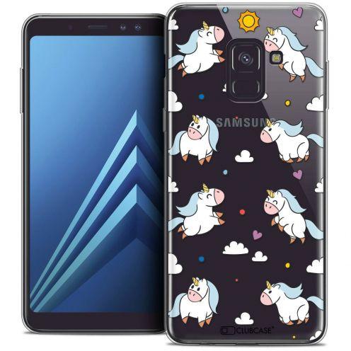 "Coque Crystal Gel Samsung Galaxy A8+ (2018) A730 (6.0"") Extra Fine Fantasia - Licorne In the Sky"