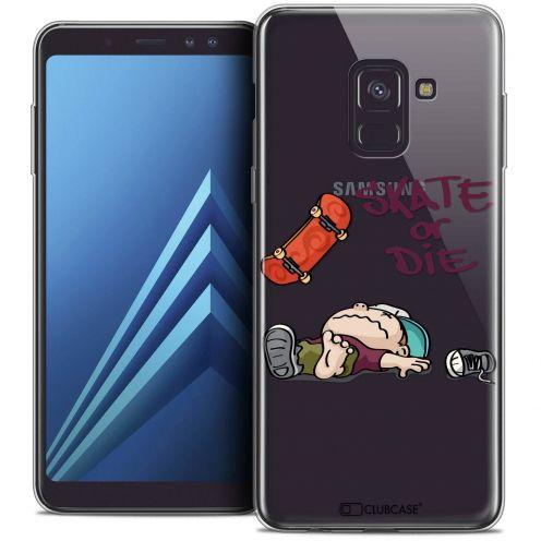 """Coque Crystal Gel Samsung Galaxy A8+ (2018) A730 (6.0"""") Extra Fine BD 2K16 - Skate Or Die"""