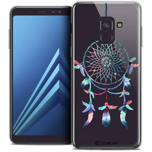 """Coque Crystal Gel Samsung Galaxy A8+ (2018) A730 (6.0"""") Extra Fine Dreamy - Attrape Rêves Rainbow"""