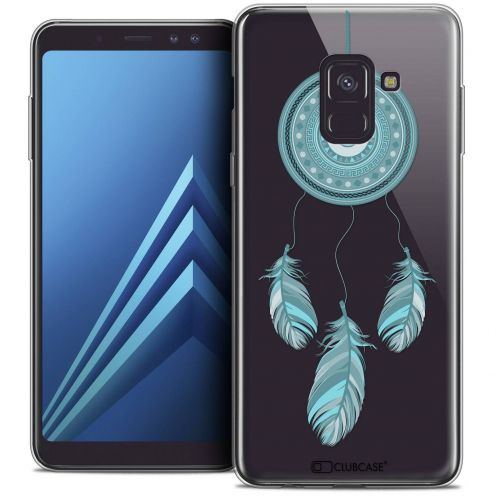 "Coque Crystal Gel Samsung Galaxy A8+ (2018) A730 (6.0"") Extra Fine Dreamy - Attrape Rêves Blue"