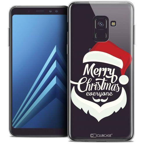 """Coque Crystal Gel Samsung Galaxy A8+ (2018) A730 (6.0"""") Extra Fine Noël 2017 - Merry Everyone"""