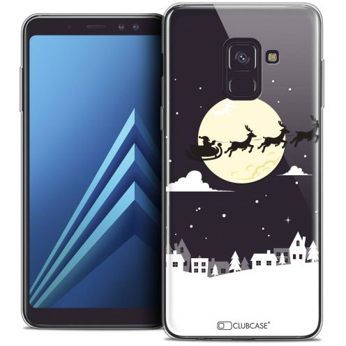 "Coque Crystal Gel Samsung Galaxy A8+ (2018) A730 (6.0"") Extra Fine Noël 2017 - Flying Stanta"