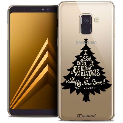 """Coque Crystal Gel Samsung Galaxy A8+ (2018) A730 (6.0"""") Extra Fine Noël 2017 - XOXO Tree"""