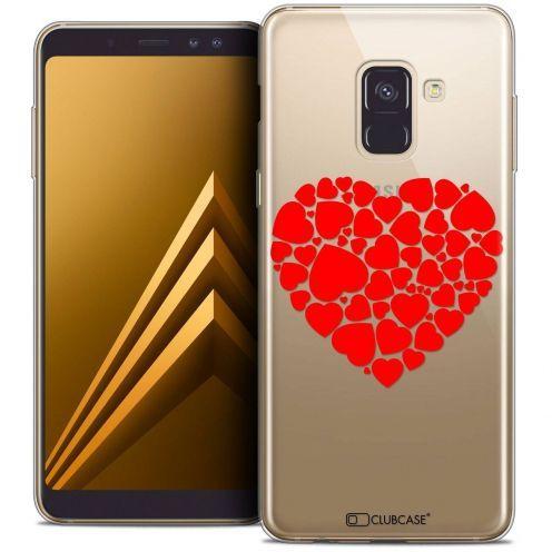 "Coque Crystal Gel Samsung Galaxy A8+ (2018) A730 (6.0"") Extra Fine Love - Coeur des Coeurs"