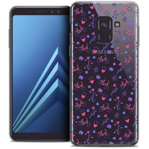 "Coque Crystal Gel Samsung Galaxy A8+ (2018) A730 (6.0"") Extra Fine Love - Bicycle"