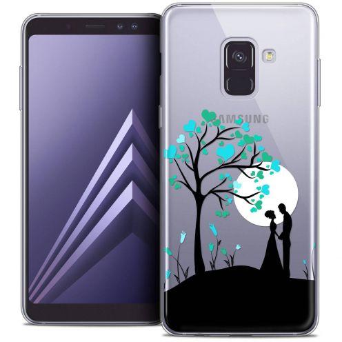 "Coque Crystal Gel Samsung Galaxy A8+ (2018) A730 (6.0"") Extra Fine Love - Sous l'arbre"