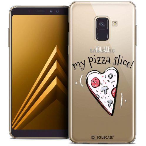 "Coque Crystal Gel Samsung Galaxy A8+ (2018) A730 (6.0"") Extra Fine Love - My Pizza Slice"