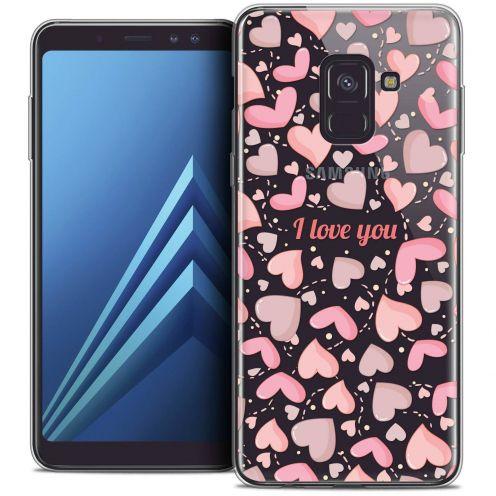"""Coque Crystal Gel Samsung Galaxy A8+ (2018) A730 (6.0"""") Extra Fine Love - I Love You"""