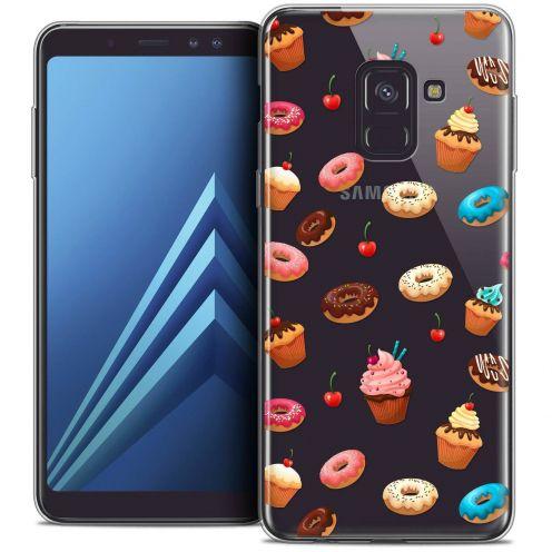 "Coque Crystal Gel Samsung Galaxy A8+ (2018) A730 (6.0"") Extra Fine Foodie - Donuts"