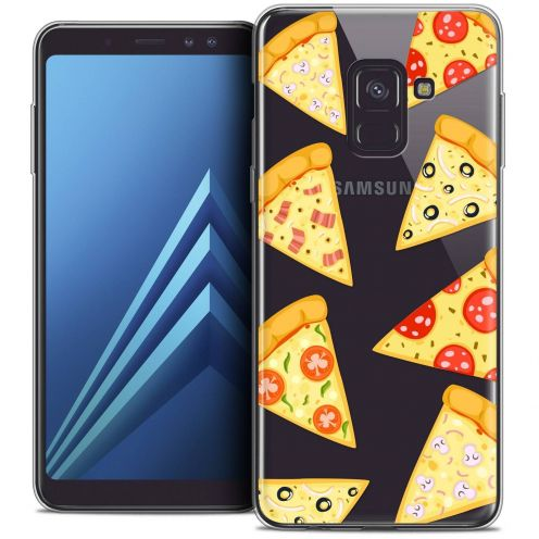 "Coque Crystal Gel Samsung Galaxy A8+ (2018) A730 (6.0"") Extra Fine Foodie - Pizza"