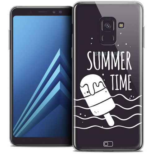 "Coque Crystal Gel Samsung Galaxy A8+ (2018) A730 (6.0"") Extra Fine Summer - Summer Time"