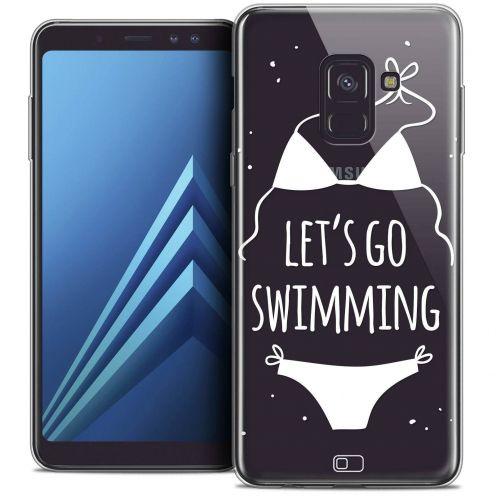 """Coque Crystal Gel Samsung Galaxy A8+ (2018) A730 (6.0"""") Extra Fine Summer - Let's Go Swim"""