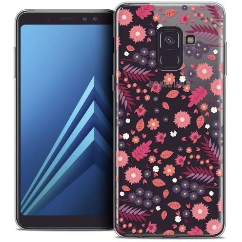 "Coque Crystal Gel Samsung Galaxy A8+ (2018) A730 (6.0"") Extra Fine Spring - Printemps"