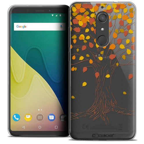 """Coque Crystal Gel Wiko View XL (5.99"""") Extra Fine Autumn 16 - Tree"""