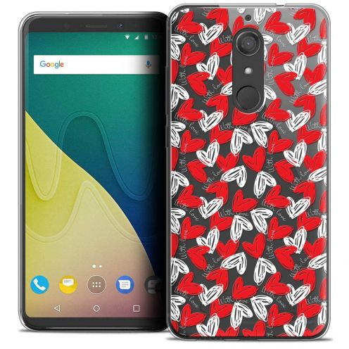 """Coque Crystal Gel Wiko View XL (5.99"""") Extra Fine Love - With Love"""