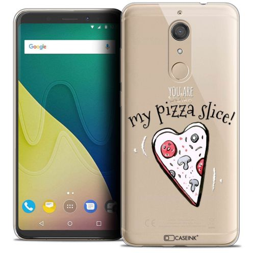 """Coque Crystal Gel Wiko View XL (5.99"""") Extra Fine Love - My Pizza Slice"""
