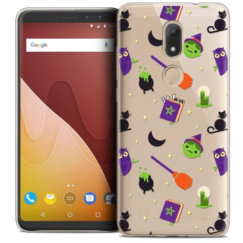 "Coque Crystal Gel Wiko View PRIME (5.7"") Extra Fine Halloween - Witch Potter"