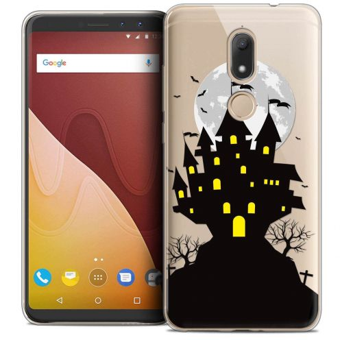"Coque Crystal Gel Wiko View PRIME (5.7"") Extra Fine Halloween - Castle Scream"