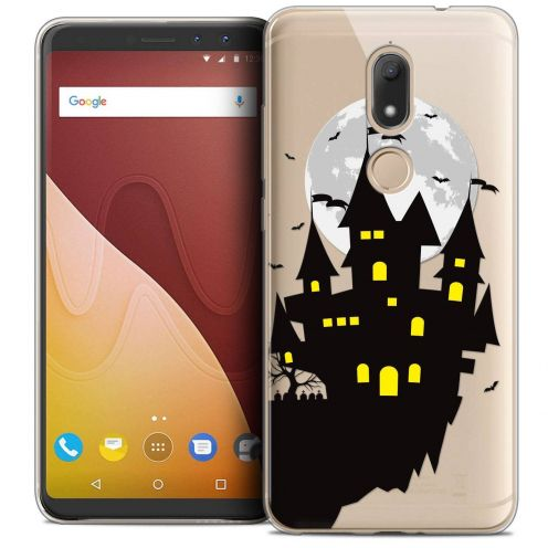 "Coque Crystal Gel Wiko View PRIME (5.7"") Extra Fine Halloween - Castle Dream"