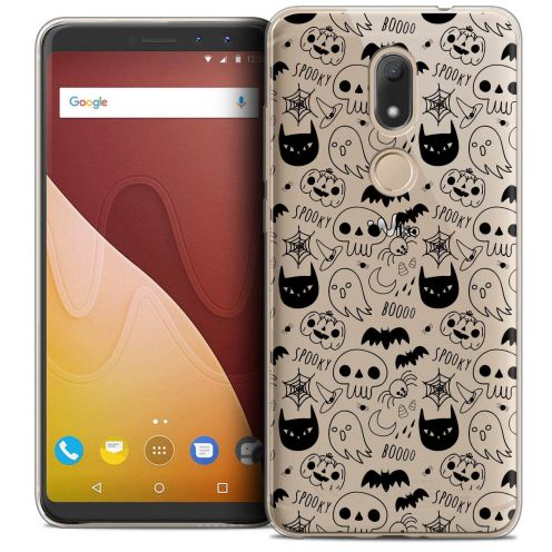 """Coque Crystal Gel Wiko View PRIME (5.7"""") Extra Fine Halloween - Spooky"""