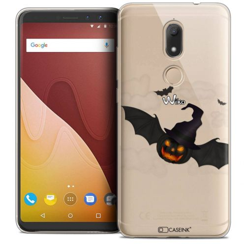 "Coque Crystal Gel Wiko View PRIME (5.7"") Extra Fine Halloween - Chauve Citrouille"