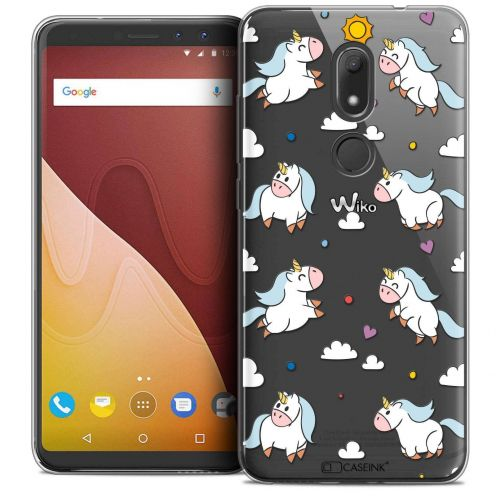 "Coque Crystal Gel Wiko View PRIME (5.7"") Extra Fine Fantasia - Licorne In the Sky"