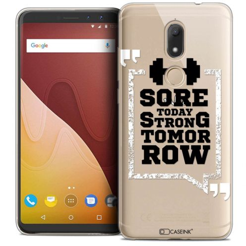 "Coque Crystal Gel Wiko View PRIME (5.7"") Extra Fine Quote - Strong Tomorrow"