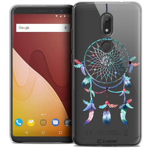 "Coque Crystal Gel Wiko View PRIME (5.7"") Extra Fine Dreamy - Attrape Rêves Rainbow"