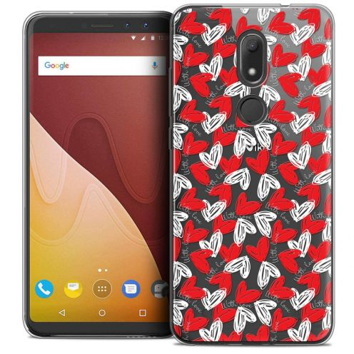 "Coque Crystal Gel Wiko View PRIME (5.7"") Extra Fine Love - With Love"