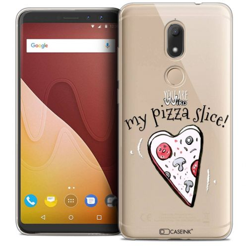 "Coque Crystal Gel Wiko View PRIME (5.7"") Extra Fine Love - My Pizza Slice"