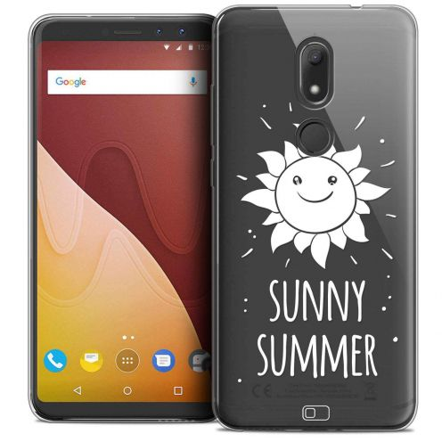"""Coque Crystal Gel Wiko View PRIME (5.7"""") Extra Fine Summer - Sunny Summer"""
